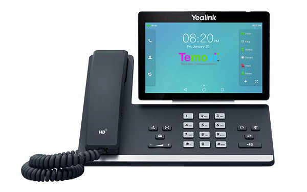 Top of the line T-58A IP phone.